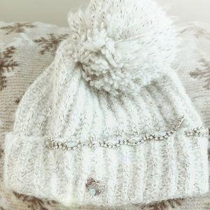 Fluffy winter hat